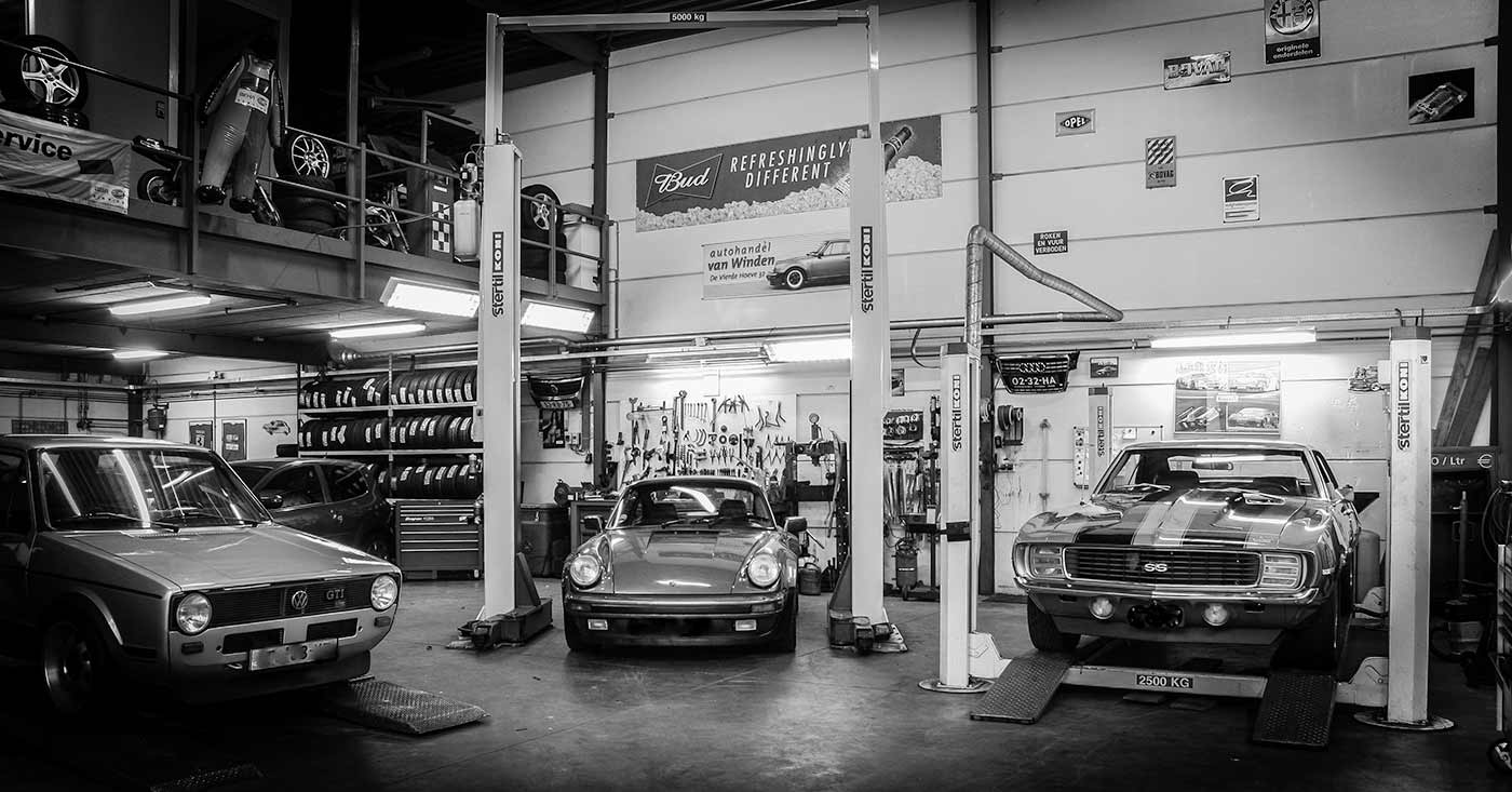 impressie garage